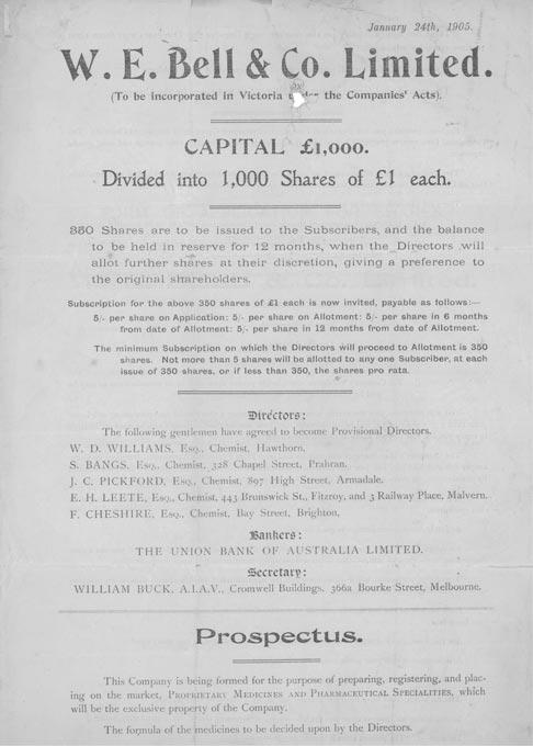1904 prospectus