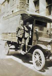 Sigma's first truck, 1923