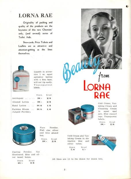 Lorna Rae cosmetics