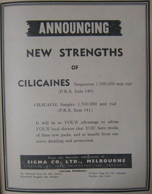 Announcement Cilicaines