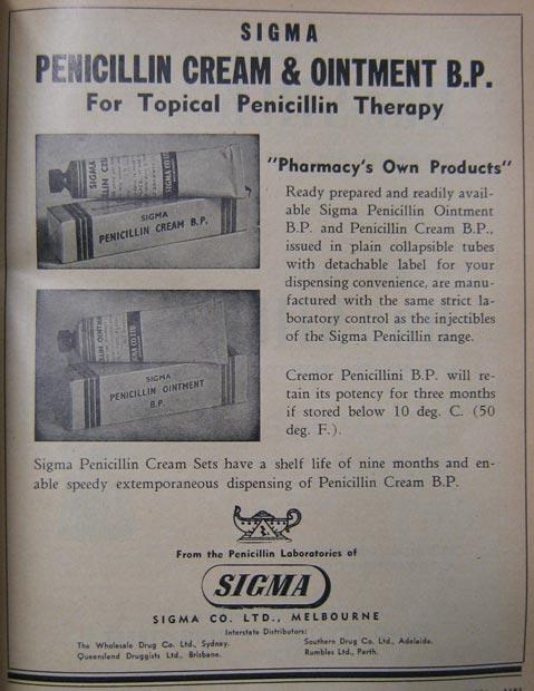 Sigma Penicillin Cream