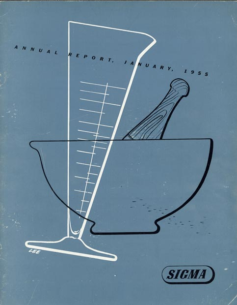 Annual Report Cover 1955