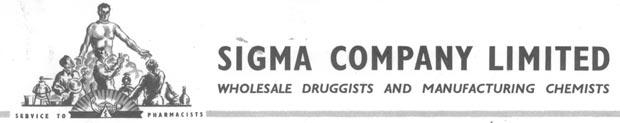 Sigma Letterhead 1956