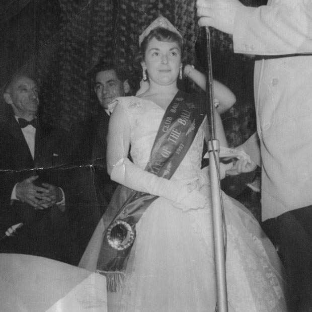 Miss Sigma 1957 Belle of the Ball
