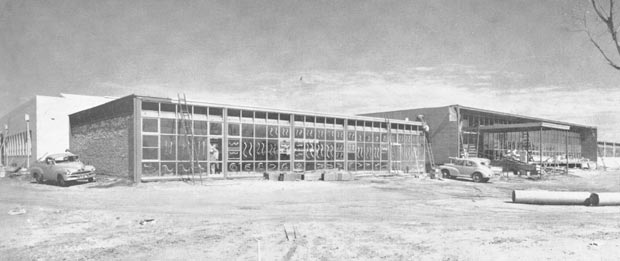 Tromax factory under construction
