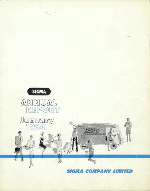 Annual Report Cover 1964
