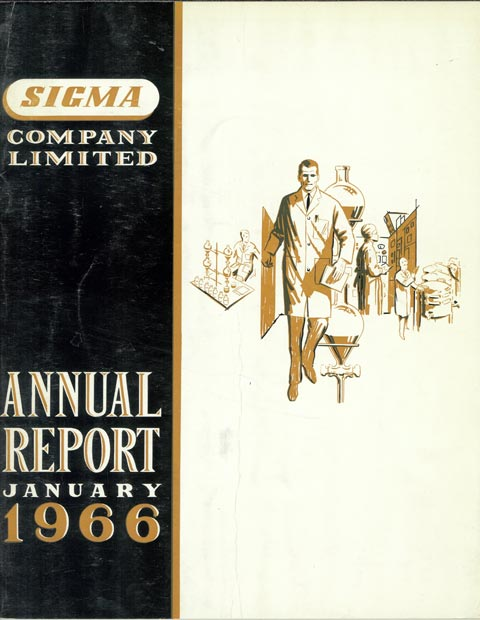Annual Report Cover 1966