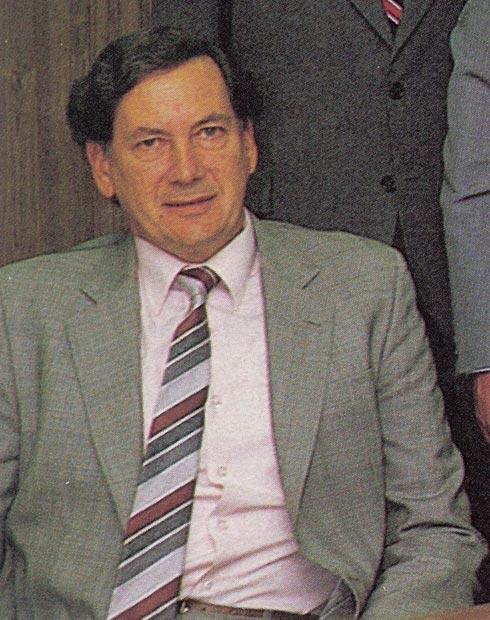 Dr Brian Comben 1976-1988