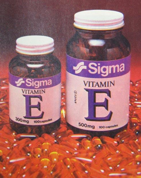 Sigma Vitamin E 1981