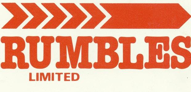 Rumbles logo 1986