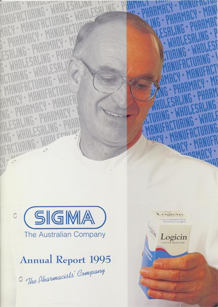 Annual Report Cover 1995
