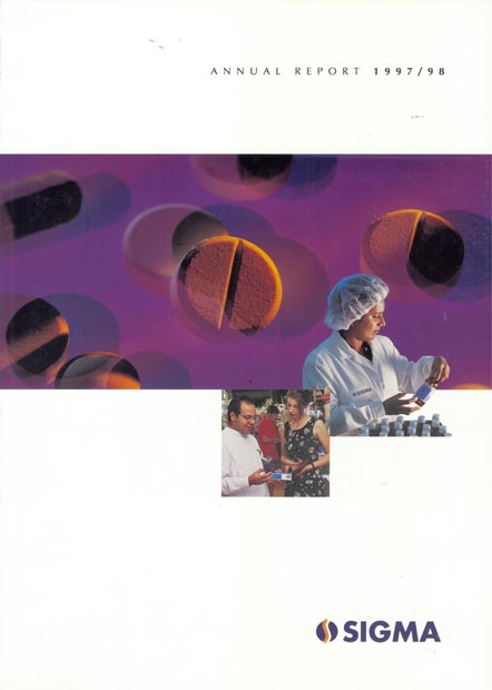 Annual Report Cover 1998