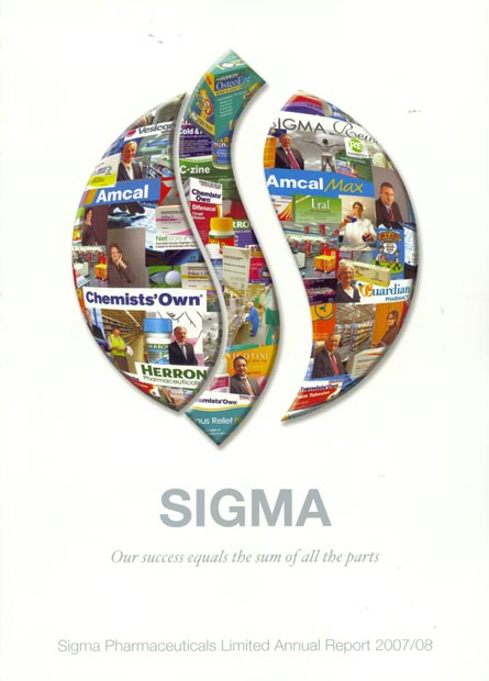 Annual Report Cover 2008
