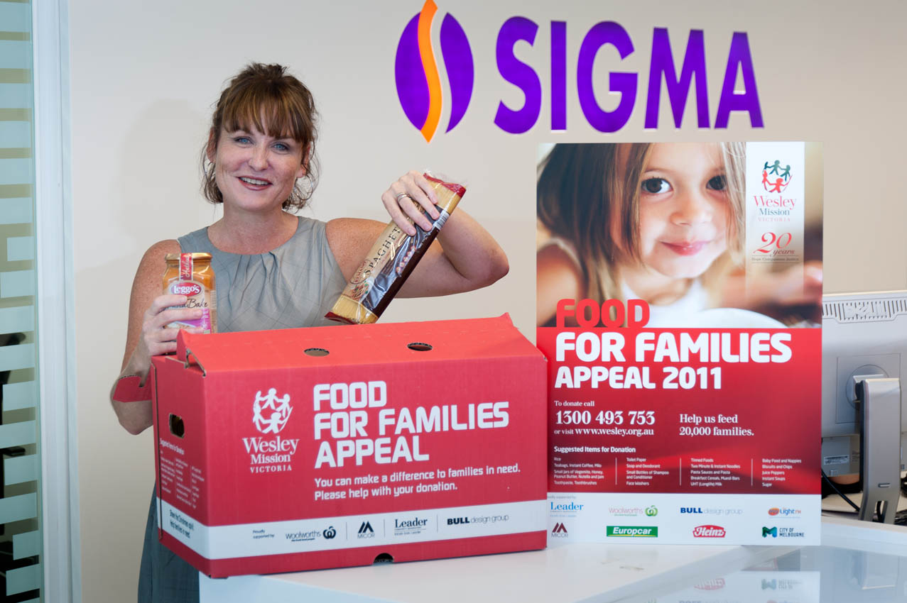 Charity Wesley Mission Food for Families Appeal