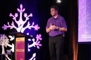 Douglas Kuskopf-Dallas presents at the conference