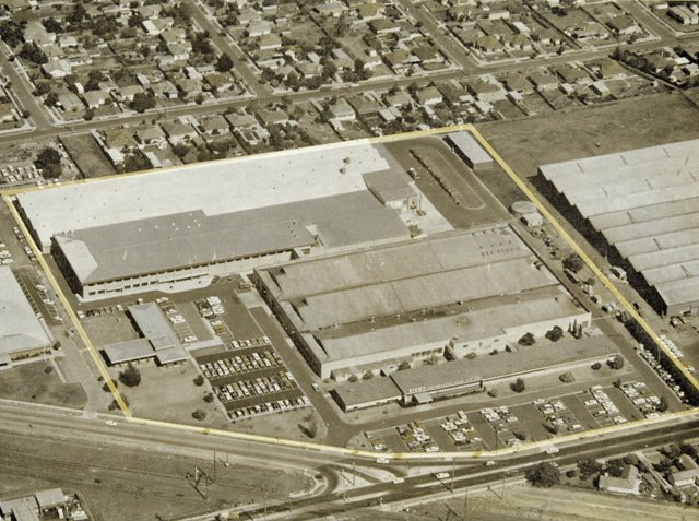 Aerial Photo of Sigmas Clayton facility c1976